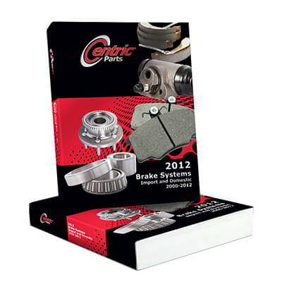 Centric Parts Releases 2012 Brake Systems Catalog