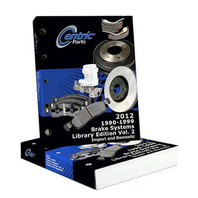 Centric Parts Releases Updated 2012 Brake Systems Catalog for 1976-1989 Vehicles