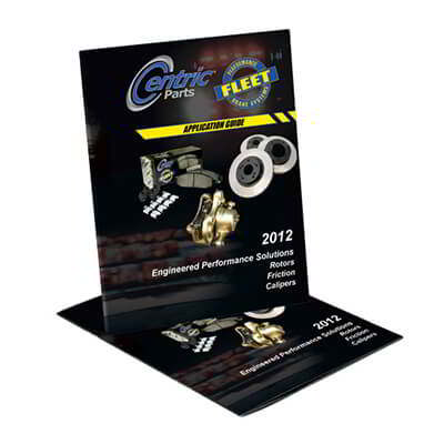 Centric Releases 2012 Fleet Performance Brake Component Guide