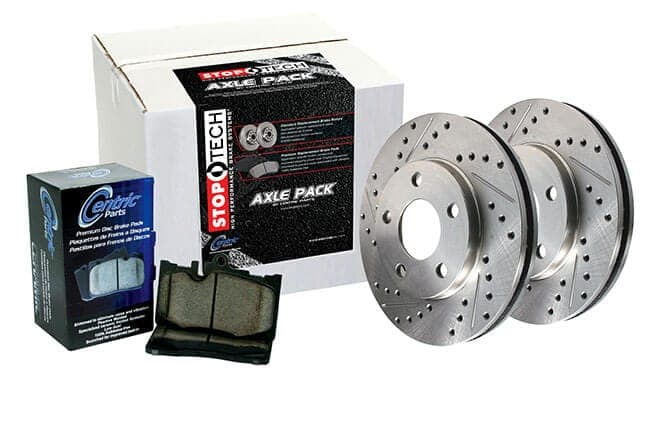 Stoptech 939.62062 Street Axle Pack Drilled Front