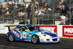Sofronas on his way to victory on StopTech brakes in Long Beach 2009